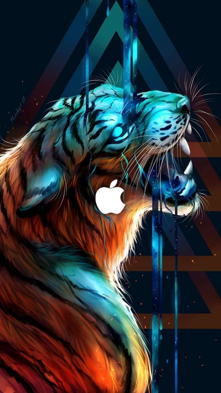 iPhone Wallpapers iphonewallpapers (With images) Tiger
