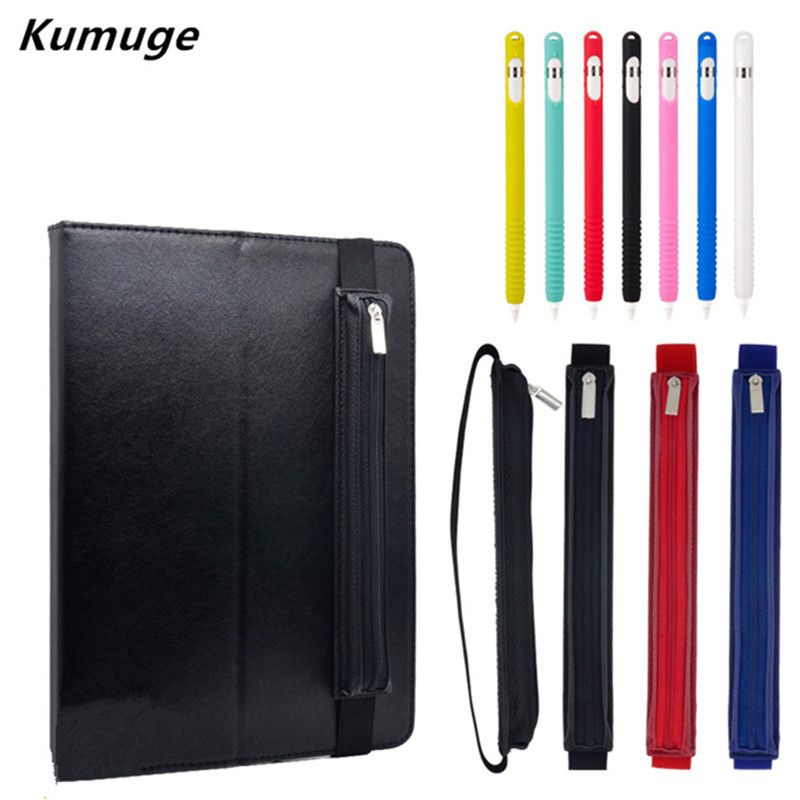 "PU Leather Case Cover Sleeve Pouch Bag Holder FOR 12.9/"" iPad Pro Pencil"