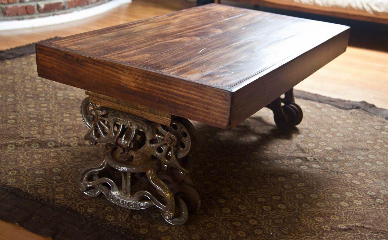 Trolley Coffee Table.Custom Barn Trolley Coffee Table Etsy Naturalideaz Ideas
