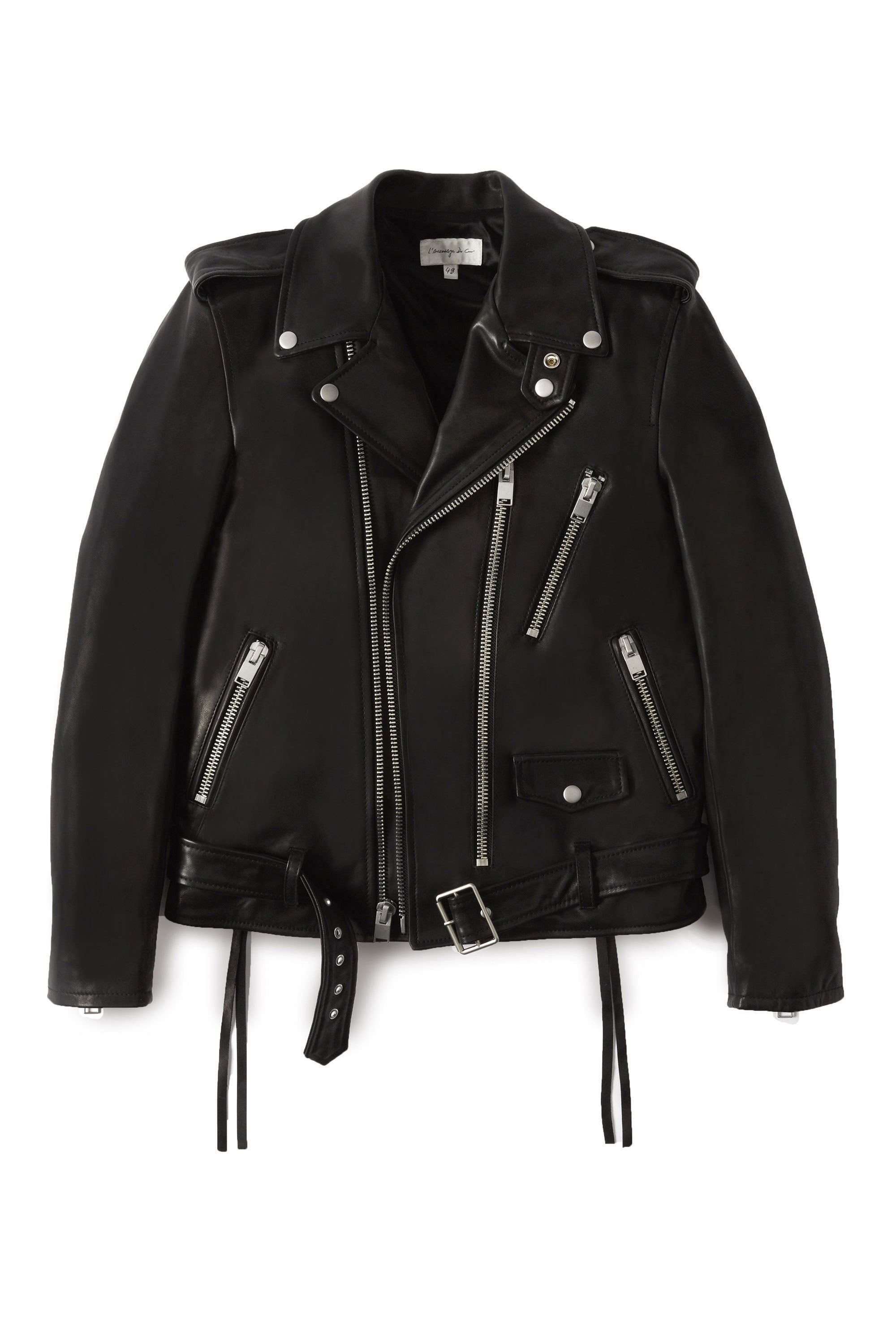 305213dd5f No. 1 Moto - Black | Must Have | Jackets, Leather, Motorcycle jacket
