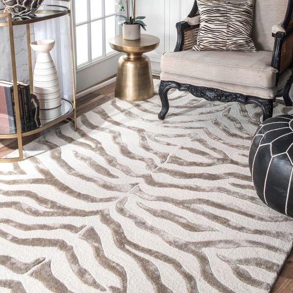 10 Most Popular Zebra Rugs For Living Room