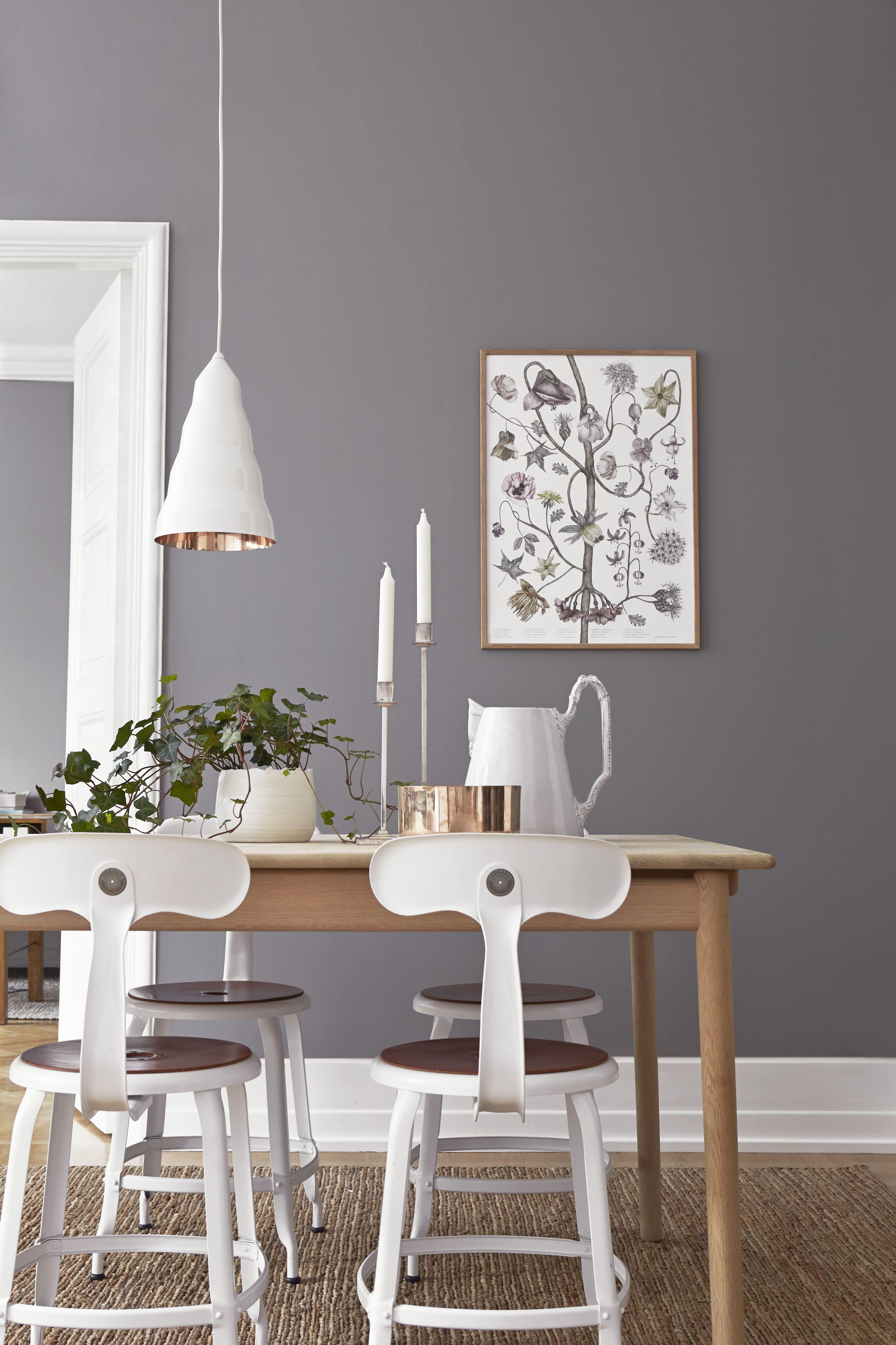 Graue Wandfarbe | Pinterest | Wandfarbe, Graue wände und Wände