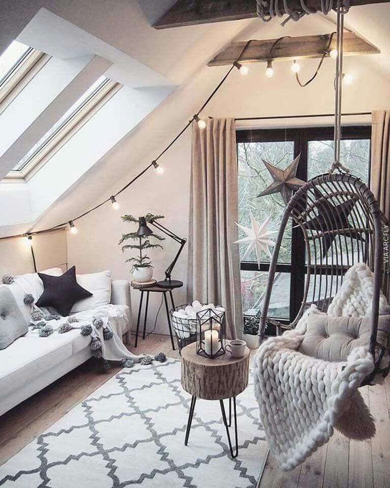pin von alexandra jimenez auf future home pinterest dachzimmer wg zimmer und einrichten und. Black Bedroom Furniture Sets. Home Design Ideas