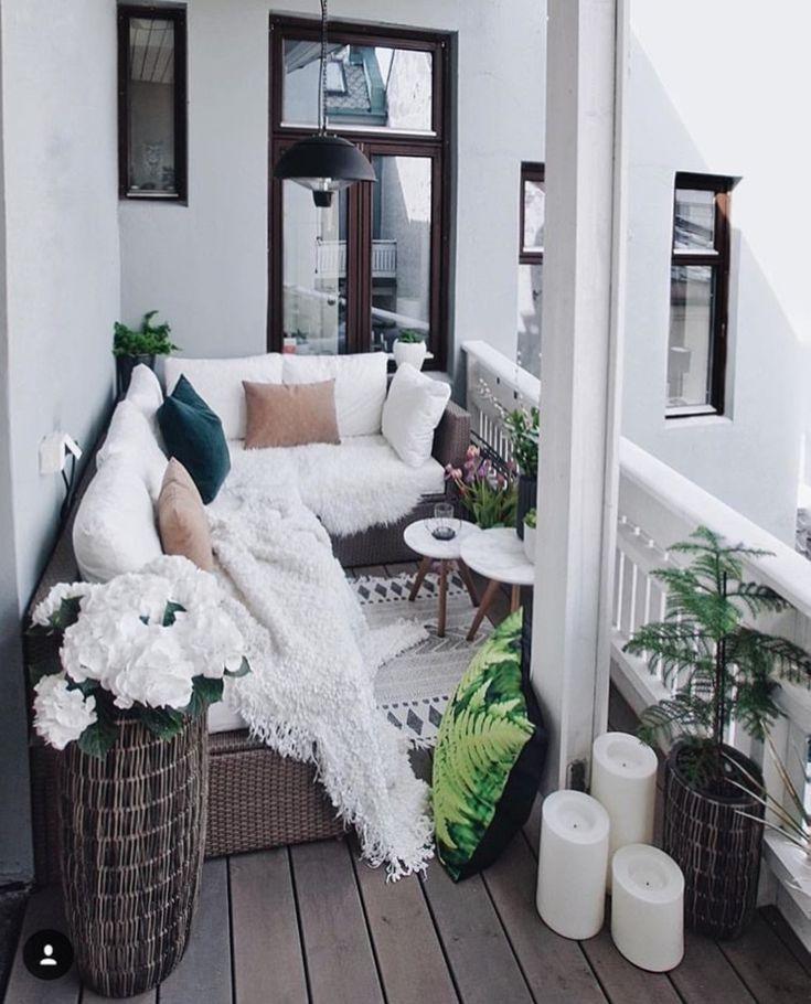 Mein SCANDI-Haus - Balkon Garten 100 #wohnungbalkondekoration