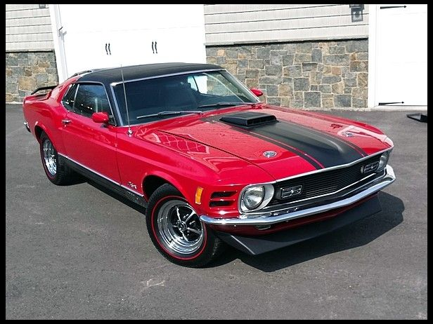 1970 Ford Mustang Mach 1 Mecum Auctions Rare Sunroof Edition
