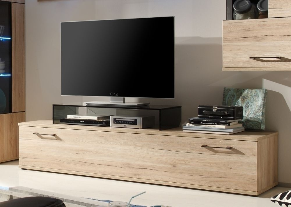 Lowboard Olivia TV-Schrank Eiche Sanremo Hell 7656. Buy now at http ...