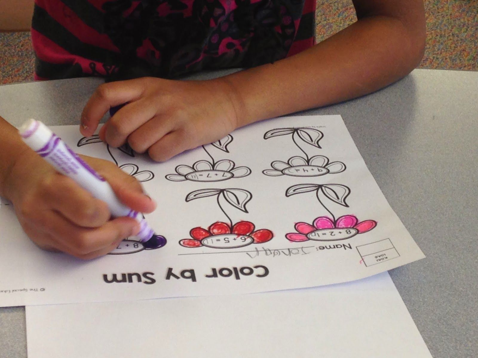 Addition And Subtraction Springtime Printables Pack Great