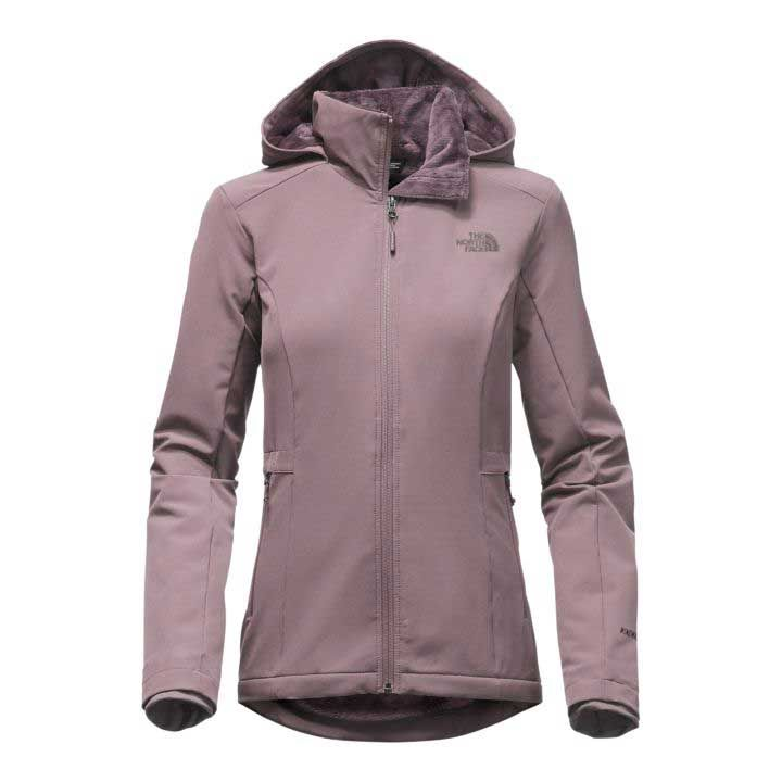 The North Face Shelbe Raschel Hoodie for Women in Quail Grey NF0A2TDU-HCV