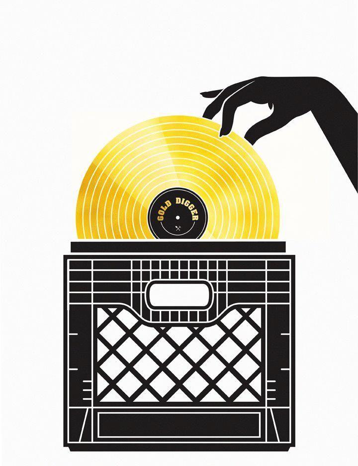 Gold Digger | Crate Digging in 2019 | Vinyl music, Music