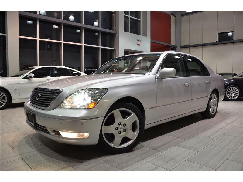 2005 Lexus LS 430 U.S Vehicle With Only 140.391 km