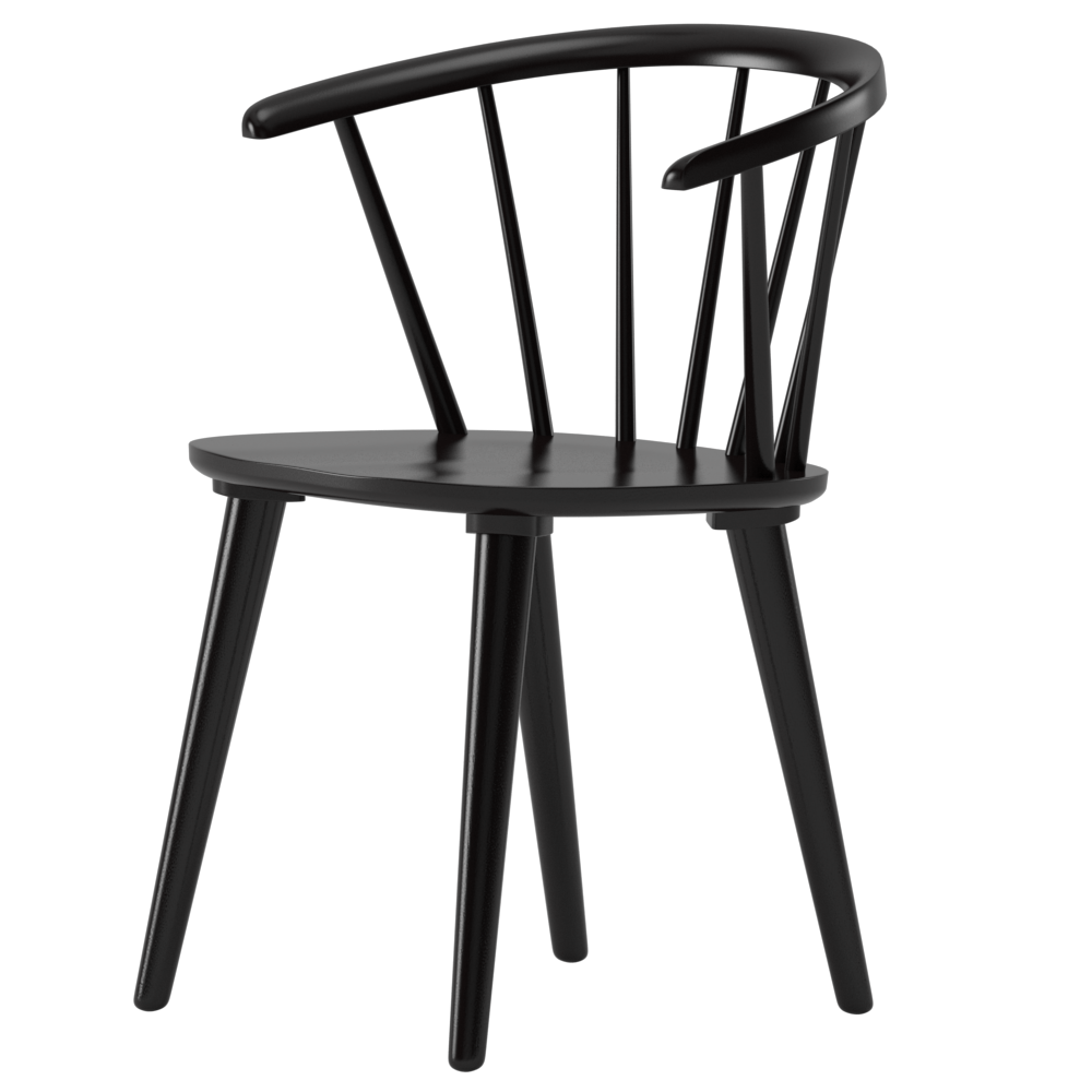 Brigg Solid Wood Dining Chair Room In 2019 Black