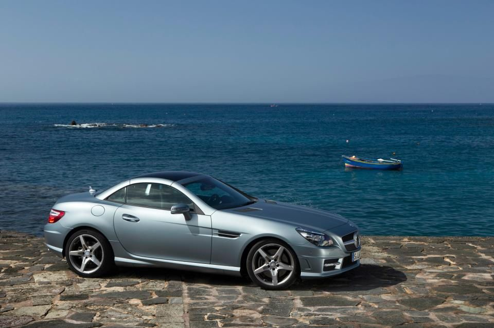 Mercedes-Benz SLK350 with designo.  European model shown.  For more information, visit: http://mbenz.us/l96iRY