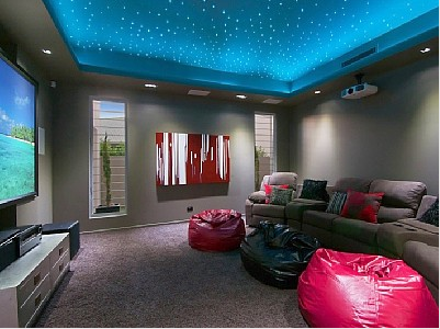 Baby Here S Our Theater Love Sac Couch Bean Bags Big Screen