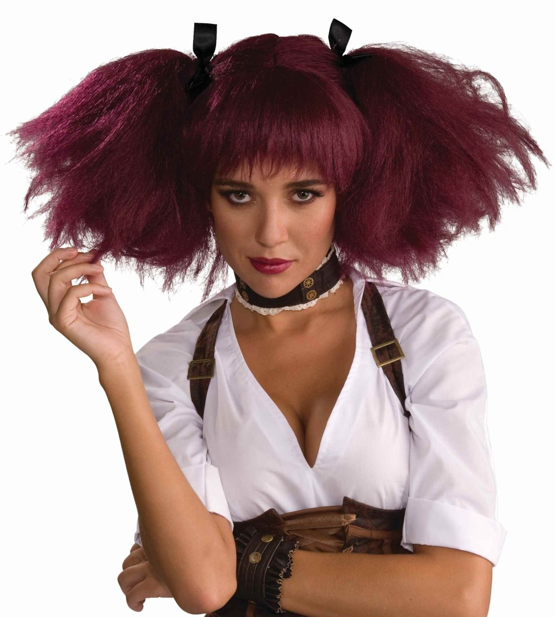 Steampunk Pigtails Wig http//tryth.at/sf2op