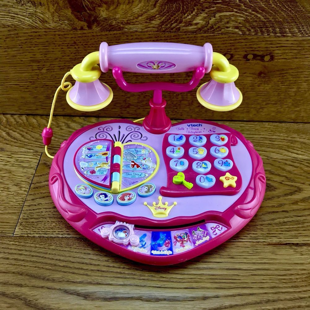 Vtech Talk N Teach Telephone Disney Princess phone