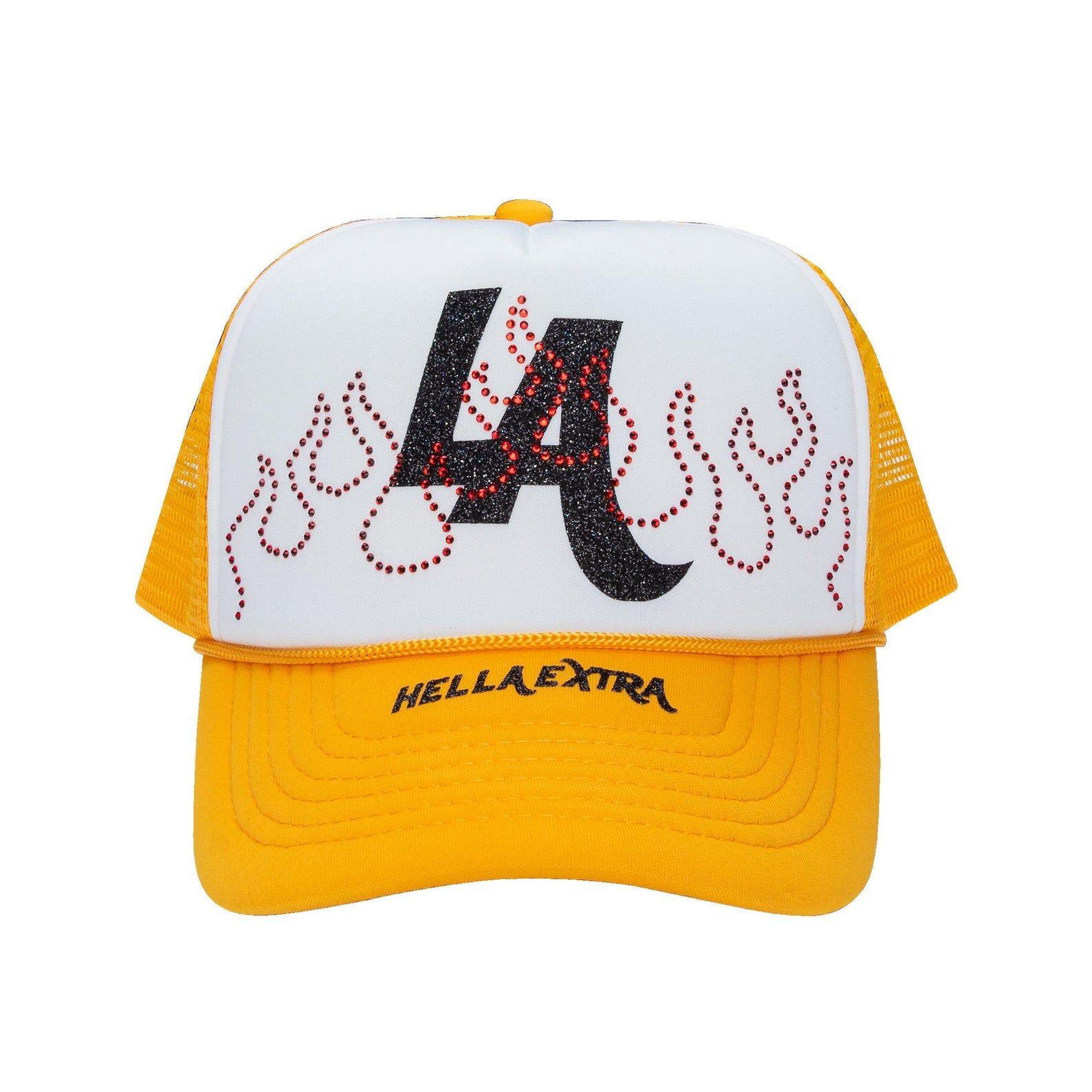 Streetwear La Trucker Hat In 2021 Trucker Hat Mesh Trucker Hat Trucker
