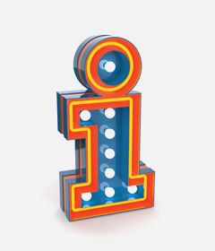 LETTER E NEON LAMP   GRAPHIC LAMP COLLECTION