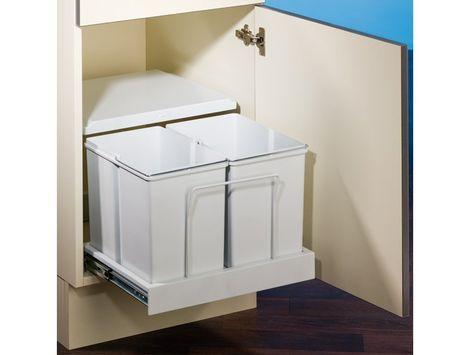 Clax 3 500-2 Abfallsammler   Trennsystem   Mülleimer 8011354 - mülleimer für küche