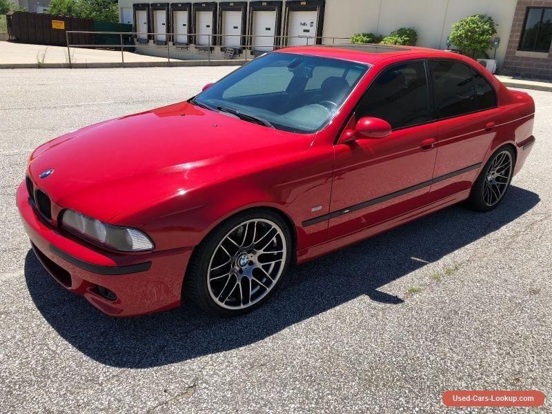 Car for Sale 2000 BMW M5