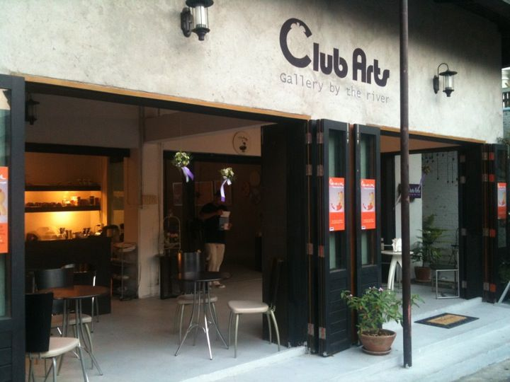 Club Arts Gallery By The River Bangkok Thailand Guided By Dot The I