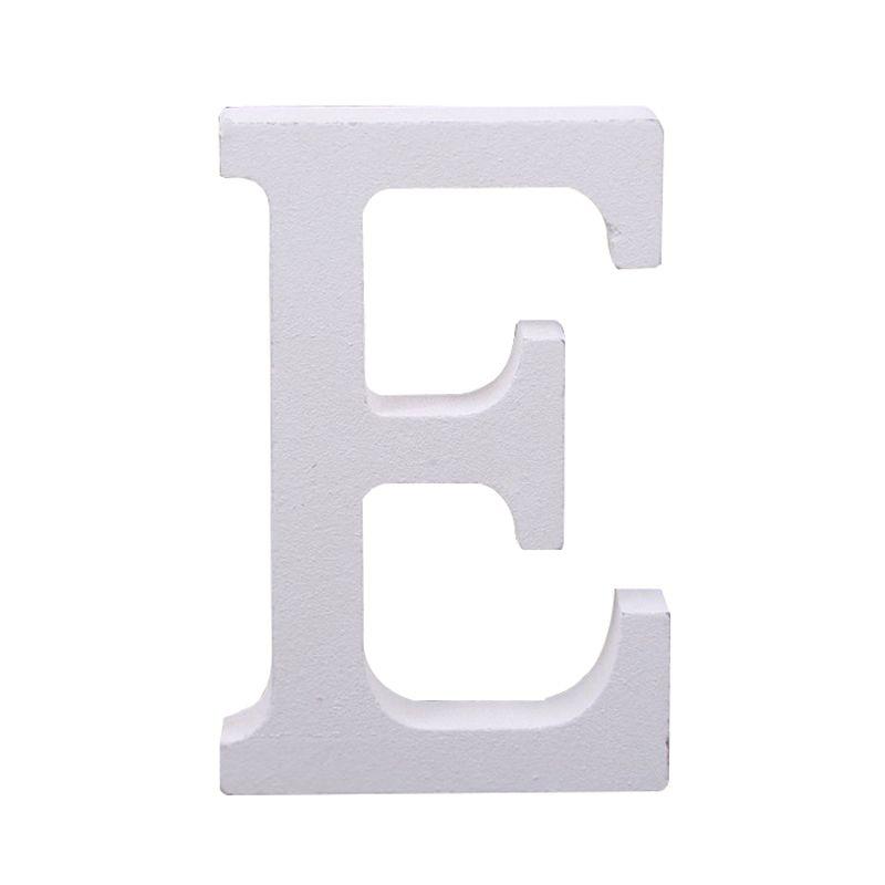 Aima wedding decoration wooden white letter decorative