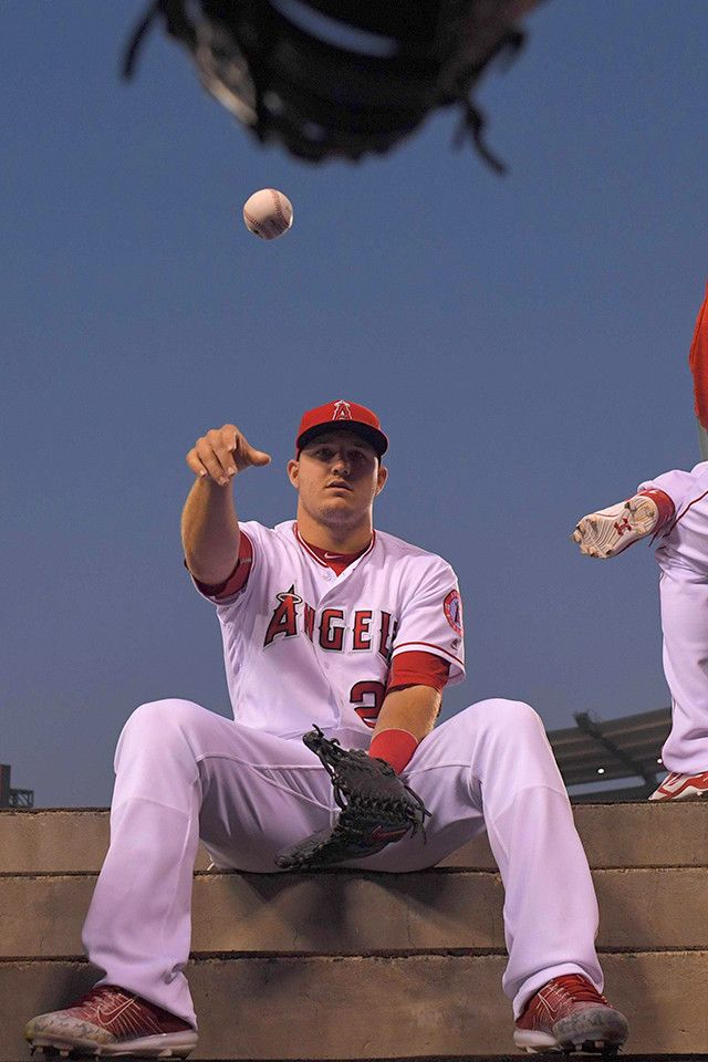 Mike Trout Apple Iphone 6 Plus Wallpaper Mike Trout Hot