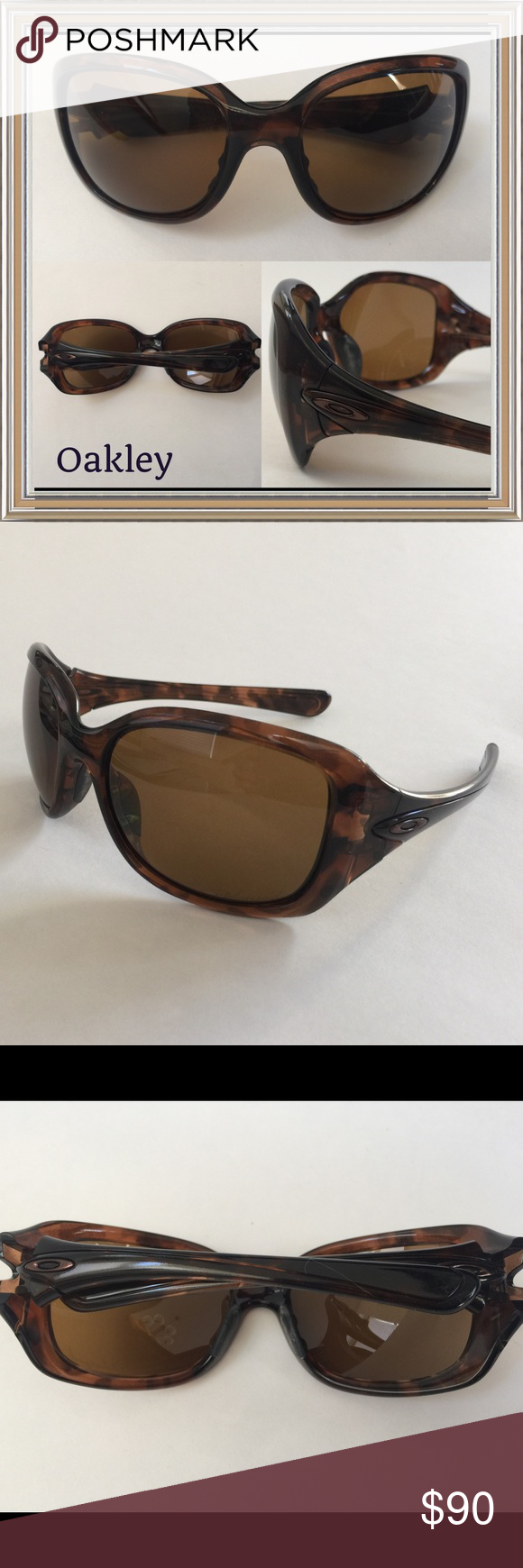 507d29f731a Pre-owned like new Oakley brand sunglasses Pre-owned Oakley Necessity  Sunglasses- Tortoise - bronze polarized. 009122-06. Worn only a few times