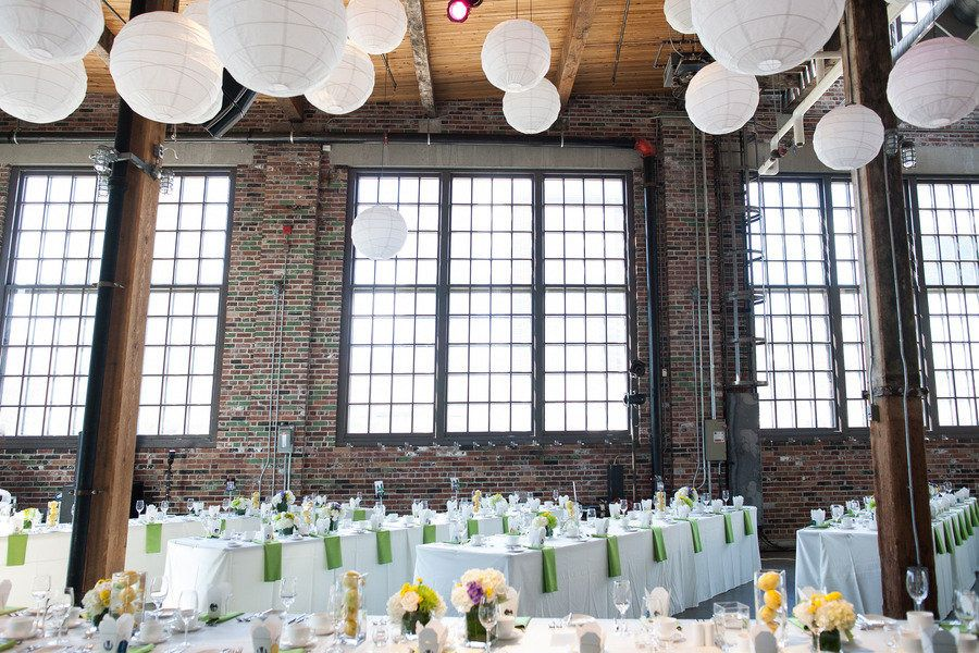 Wedding at Steam Whistle Brewery Roundhouse, photo by