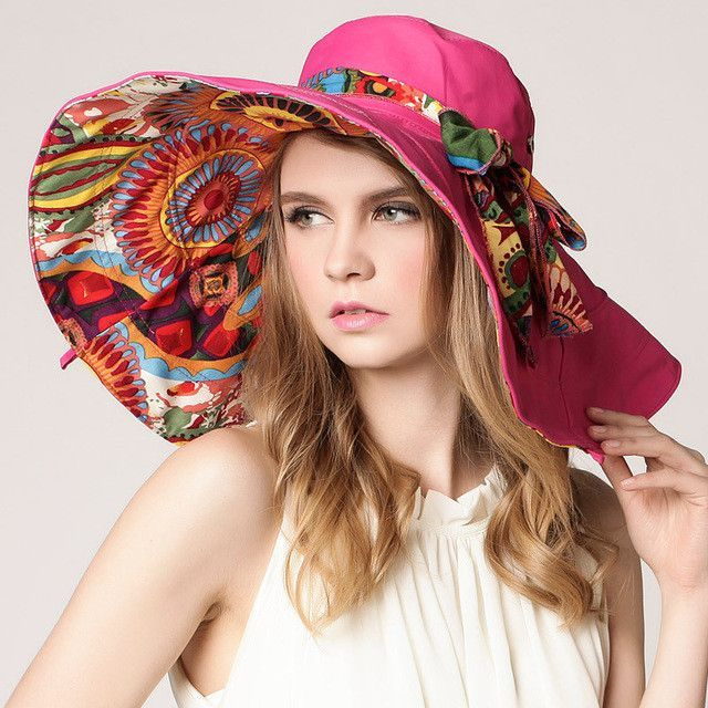 wide brim floppy hat 2017 summer hats for women sun hat women fashion hats  beach with big heads foldable style fashion lady s 4e04caa4425