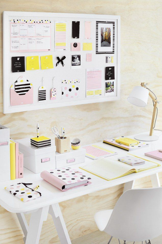 Kikki k why not collection out january 2015 schreibtisch for Schminktisch deko ideen
