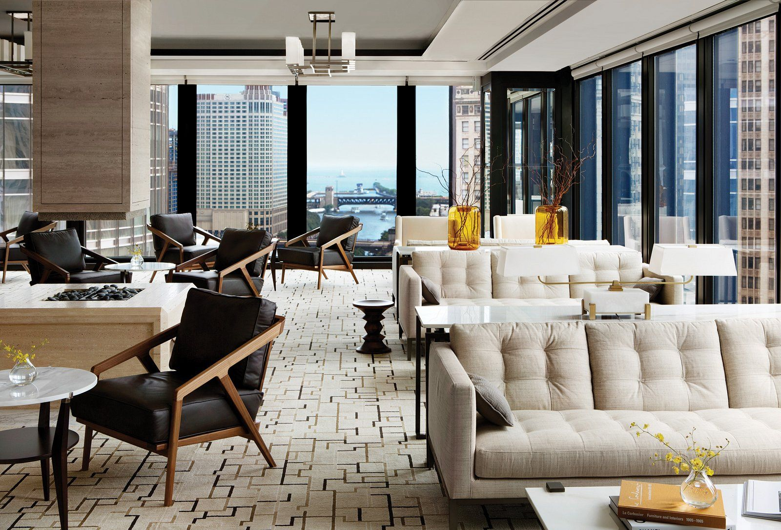 The Langham Chicago LCL Lounge hotel