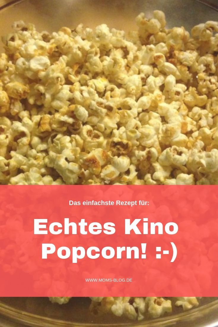 Kino - Popcorn: Super einfach & richtig lecker! #kino #popcorn #rezept #mamablog