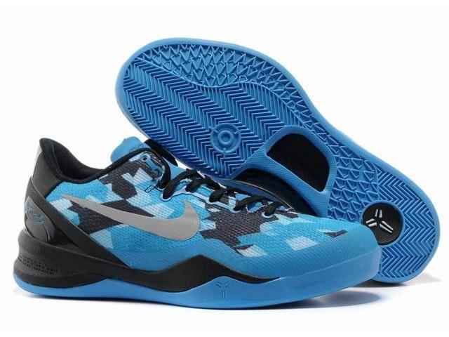Nike Zoom Kobe Viii Shoes 8 Sea Black Blue White Women'S Coming