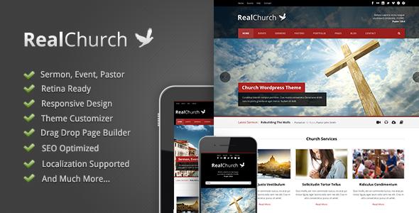 Real Church - Responsive Retina Ready Theme   Pinterest