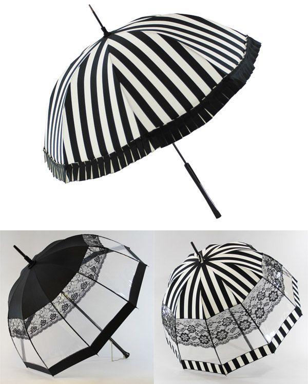 fe10d88b3613f black white umbrellas - by parisian handmade parasol company, parasolerie  heurtault
