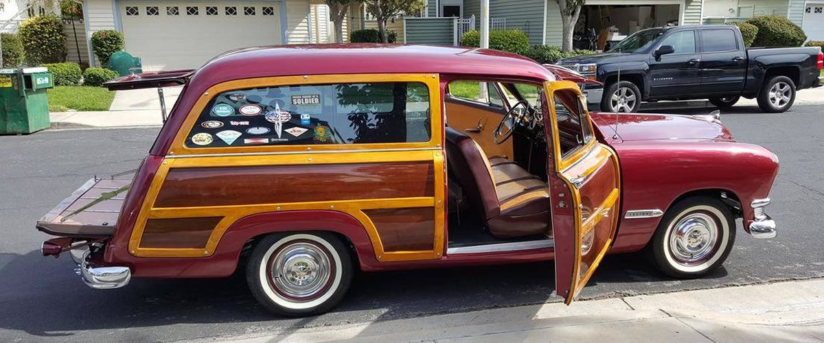 1950 Ford Woodie For Sale - California | Classic Cars - Ford ...