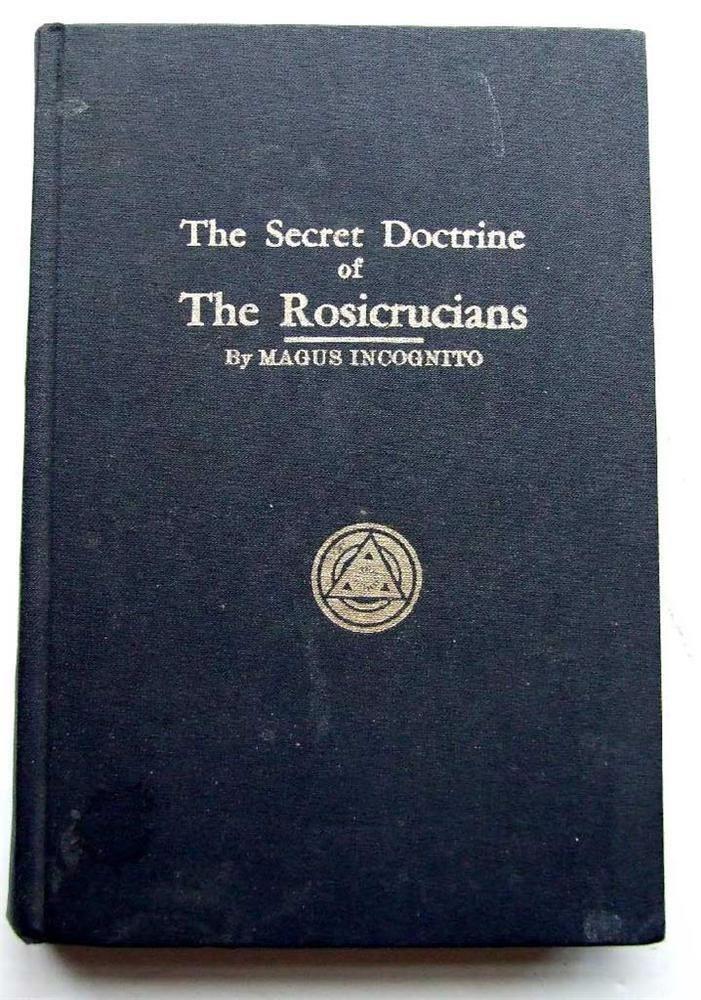 Secret Doctrine Of The Rosicrucians Magus Incognito Secret Symbols