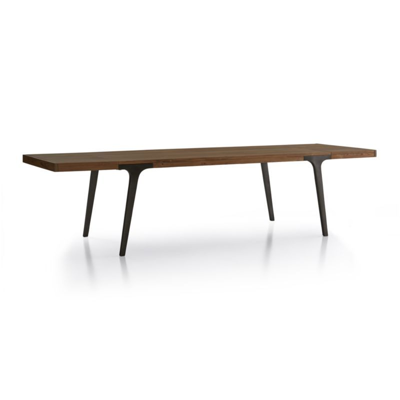 lakin recycled teak extendable dining table - crate and barrel, Esstisch ideennn