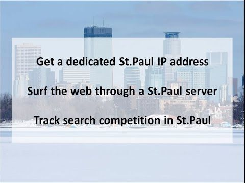 St Paul Mn Private Proxies Buy St Paul Proxy Servers Pk