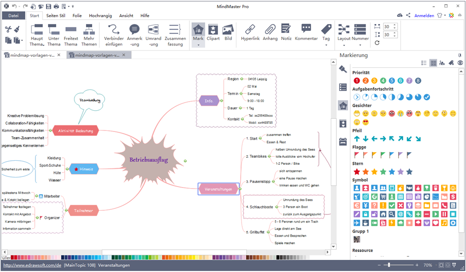 Mindmap erstellen Software Mindmap erstellen