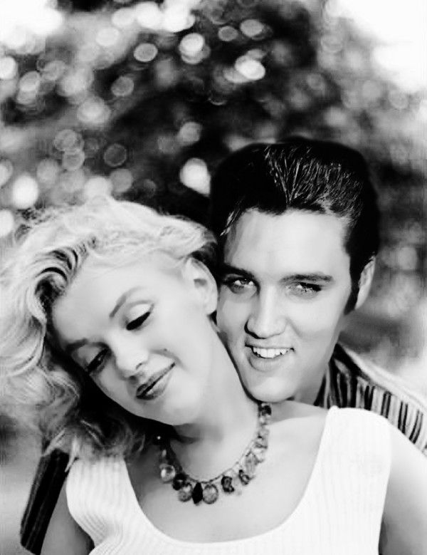 marilyn monroe and elvis presley they would have made the. Black Bedroom Furniture Sets. Home Design Ideas
