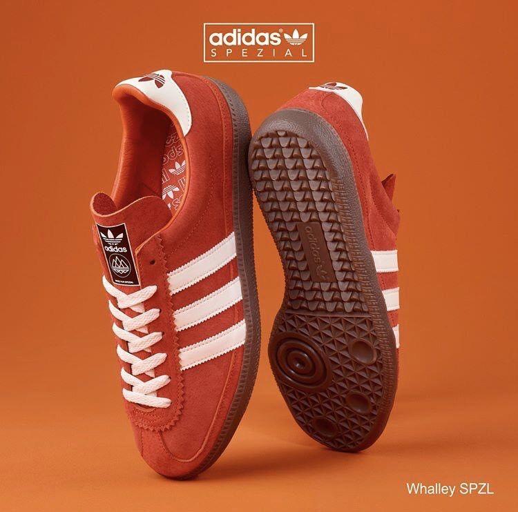 bc20c57fdd6e Adidas Whalley Spzl in Burnt Orange
