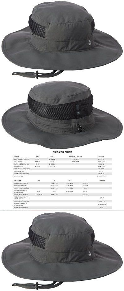 b48a993fe18 Hats and Headwear 70810  New Columbia Mens Bora Bora Booney Ii Sun Fishing  Hat Grill - One Size BUY IT NOW ONLY   36.62