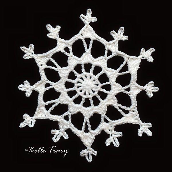 100 Free Crochet Snowflakes @ crochetreasures | Christmas ornaments ...