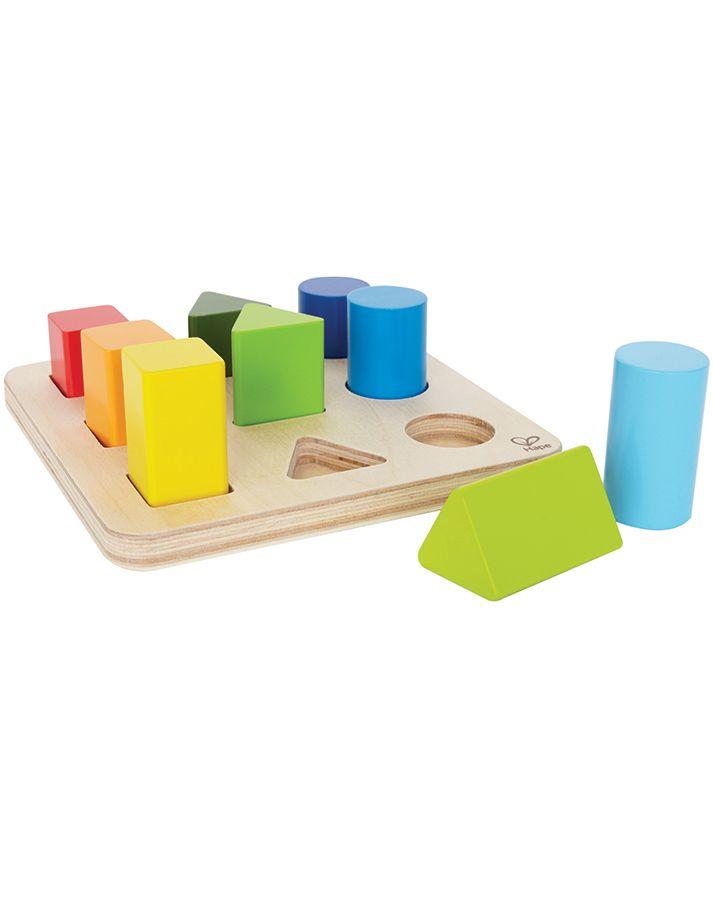 Farben- und Formensortierer aus Holz in bunt | Babies