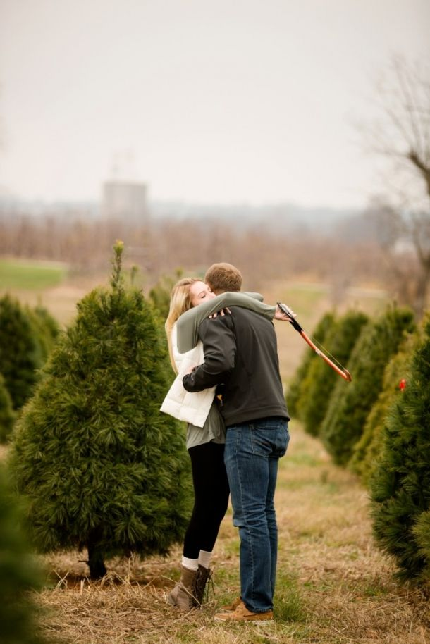 Kent And Haylee Photography Tree Farm Proposal Christmas Tree Farm