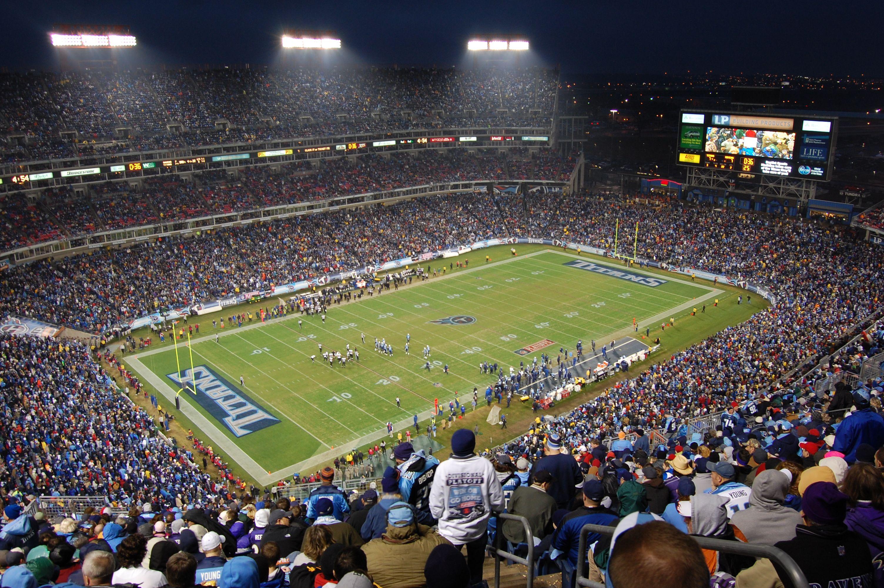 Lp Field Nashville Tn Tennessee Titans Tennessee Titans Tennessee Nfl Stadiums