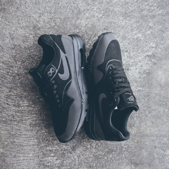 Sold Nike Air Max 1 Ultra Moire Triple Black Nike Women Nike Air Max Air Max Women