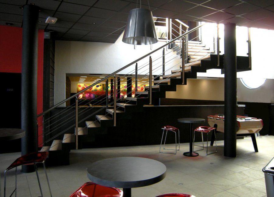 Escalier métallique à usage professionnel Ferro Escaliers et