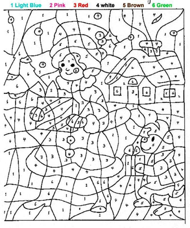 color by number disney coloring pages | Раскраски дисней ...